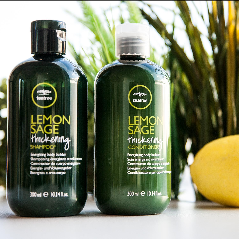 Lemon Sage шампунь для жирных волос
