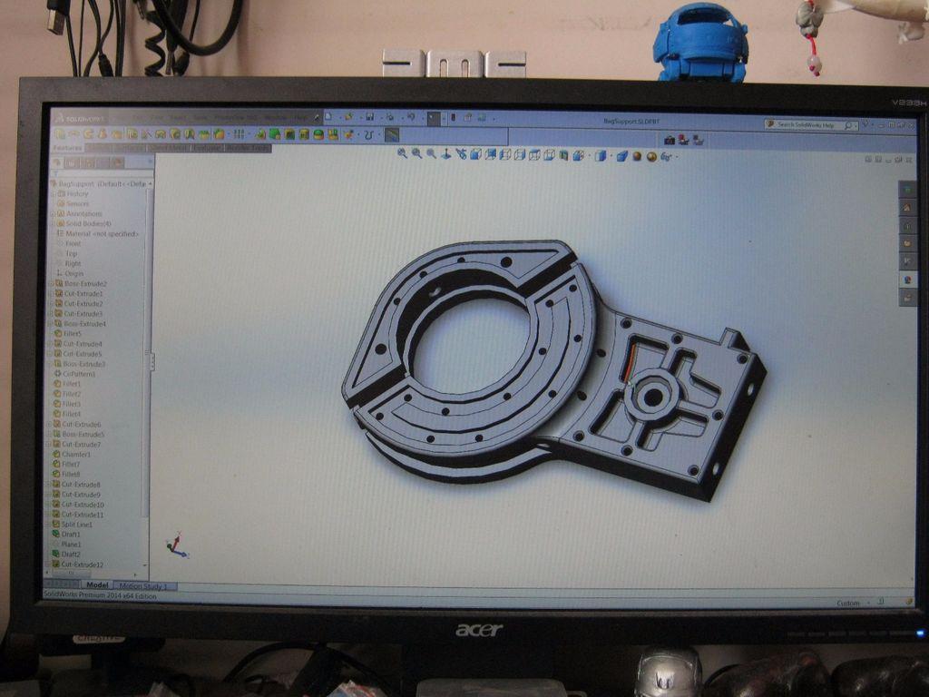 проектирование детали для 3д печати