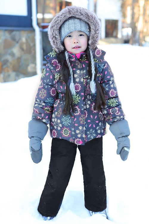 Комплект для девочки Premont Цветущий Банф купить в интернет-магазине Premont-shop