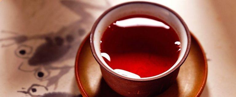 Чай красный фото