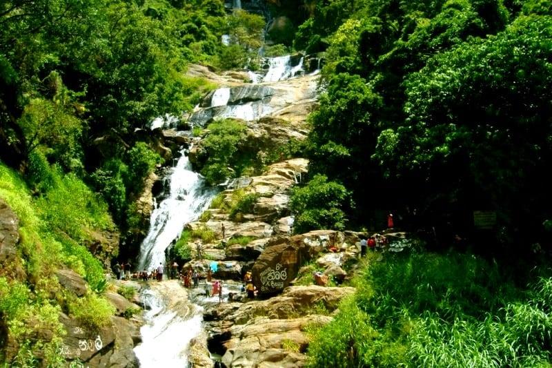 Водопады Шри Ланка