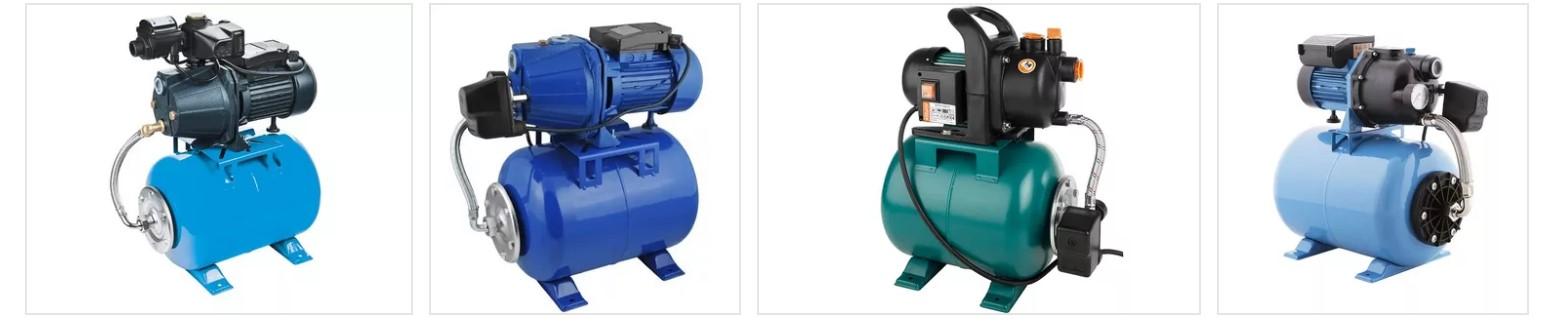 Насосные станции для повышения давления воды