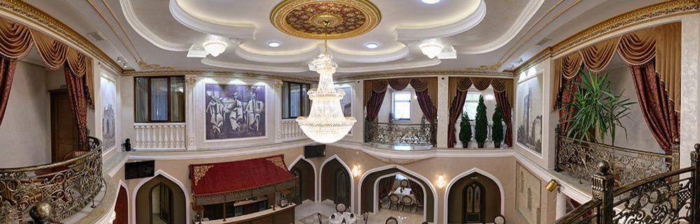 Бакинский дворик. Панорма