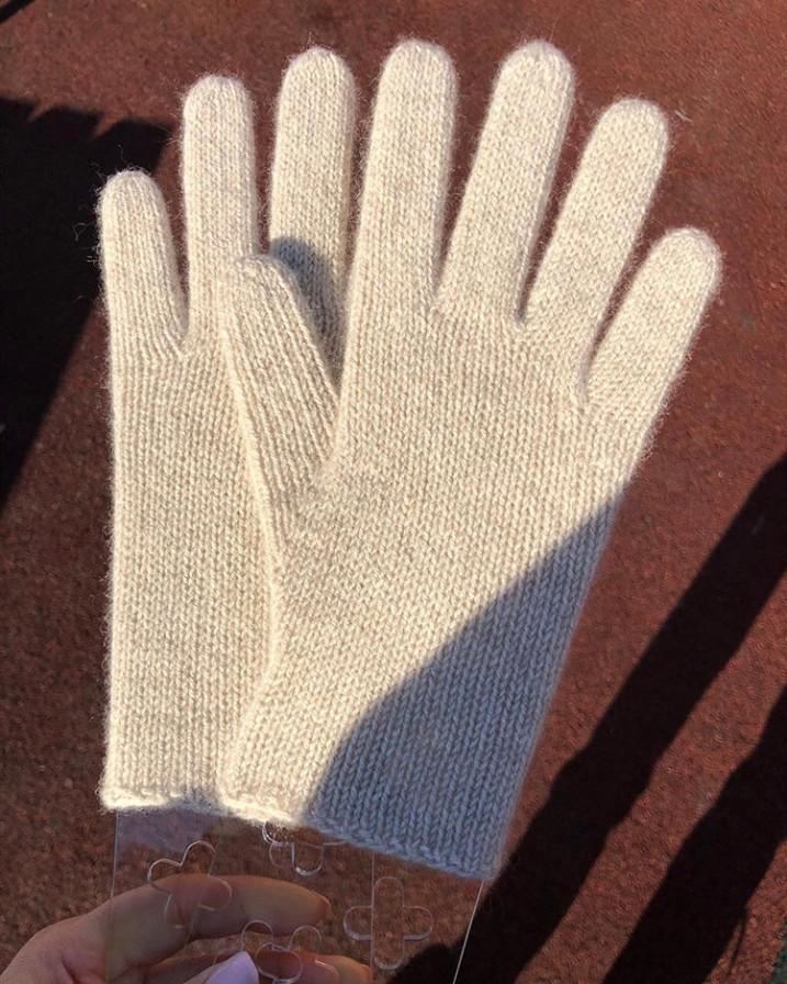 перчатки из монгольского кашемира