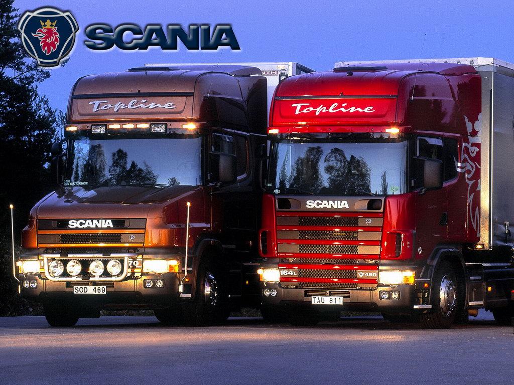 Скания грузовики и Мобил 1