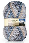 Everest Yarnart - теплая зимняя пряжа средней толщины с интересной окраской