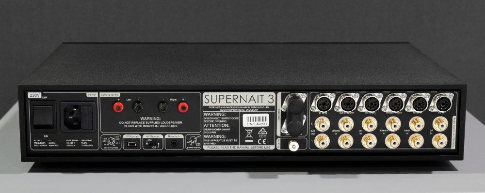 Интегральный усилитель Naim Supernait 3