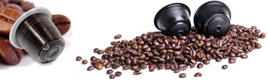 1 капсула с кофе