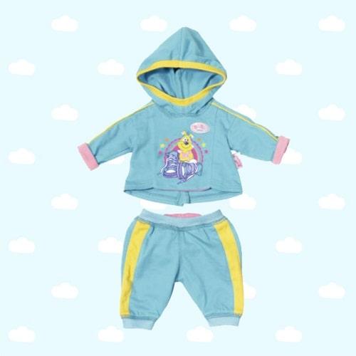 Одежда для Baby Born - Спортивный костюмчик голубой