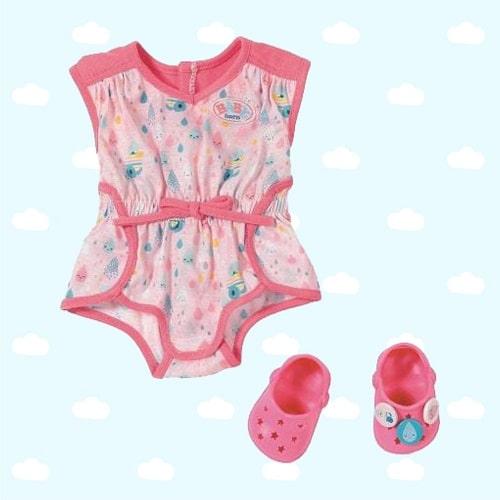 Пижамка с обувью для куклы Baby Born