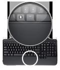 Полноразмерная беспроводная клавиатура