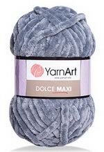 ПряжаDolce Maxi (YarnArt) - нежные велюровые нитки для ручнгог вязания, фото