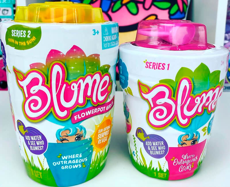 размеры Blume Dolls серии 2 Fun in the Sun