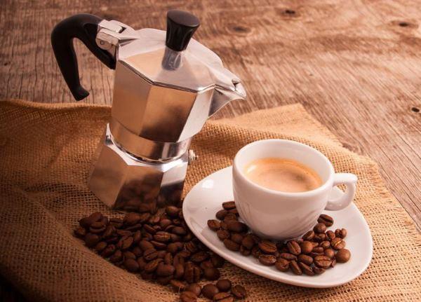 фото кофе для гейзерной кофеварки