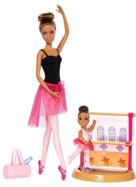 Кукла Барби брюнетка серия Карьера балет