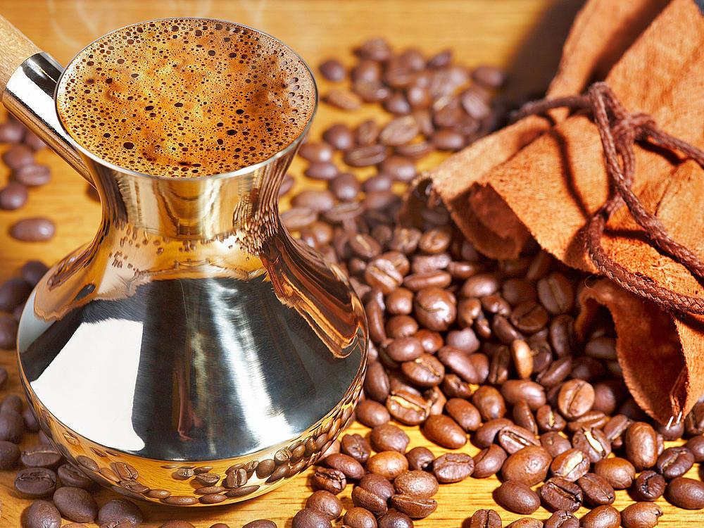 фото кофе в зернах для турки