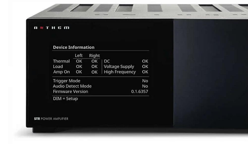 Усилитель мощности Anthem STR Power Amplifier black