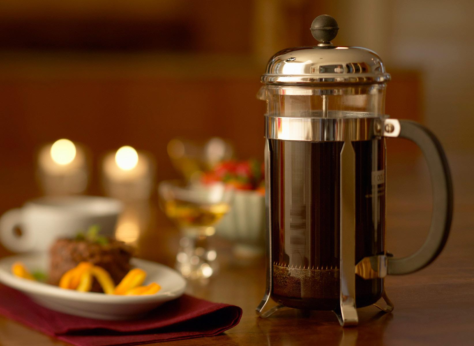 фото кофе для френч пресса
