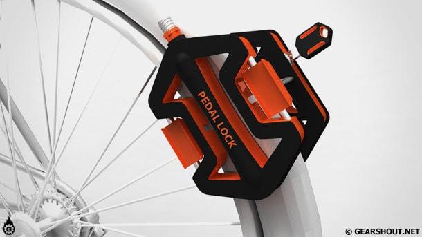 Блокиратор велосипедных колес Pedal Lock
