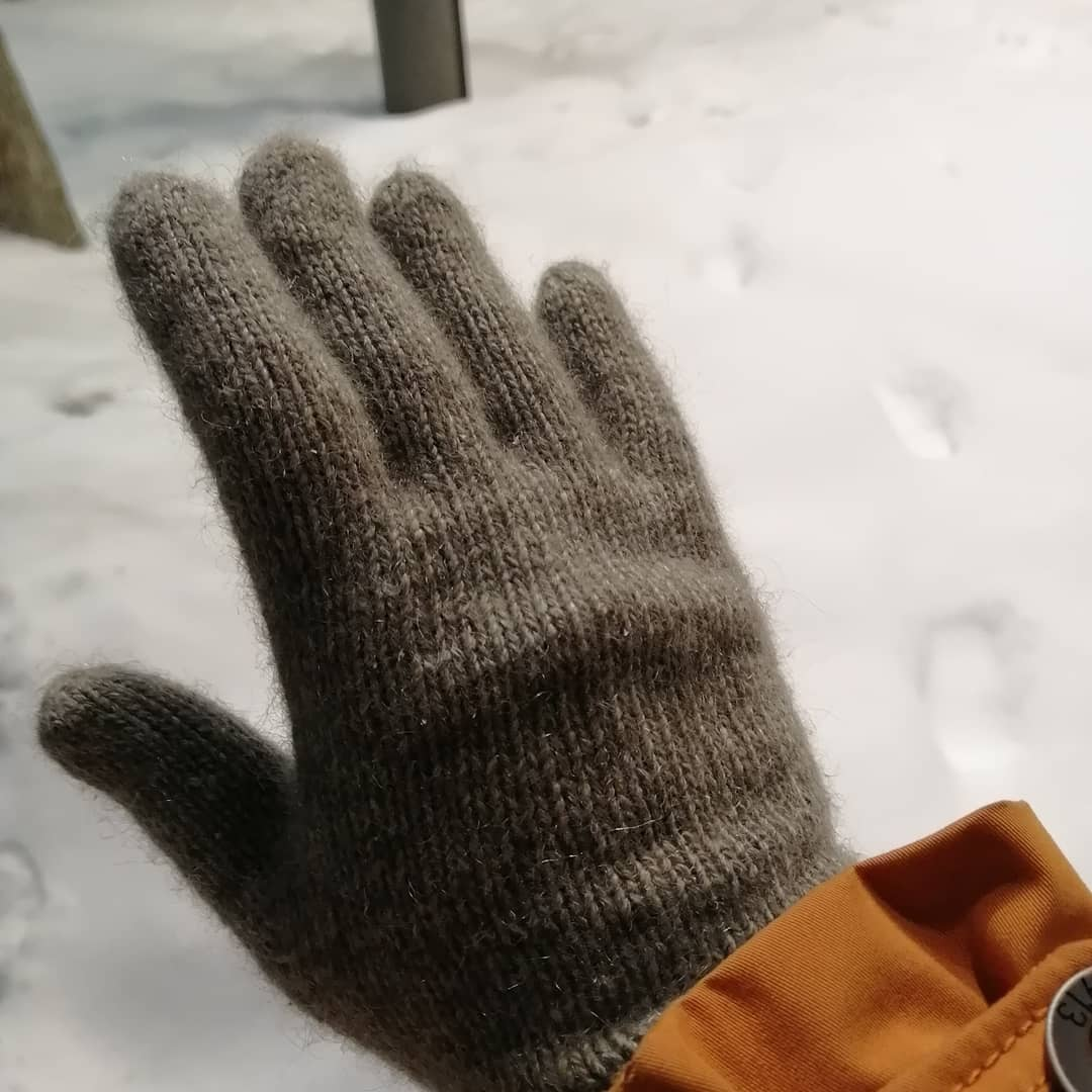 перчатки из пуха яка сарлаг