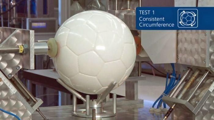Тест FIFA размеры футбольного мяча