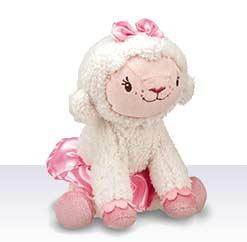 Плюшевая кукла - овечка Лэмми из Доктор Плюшева