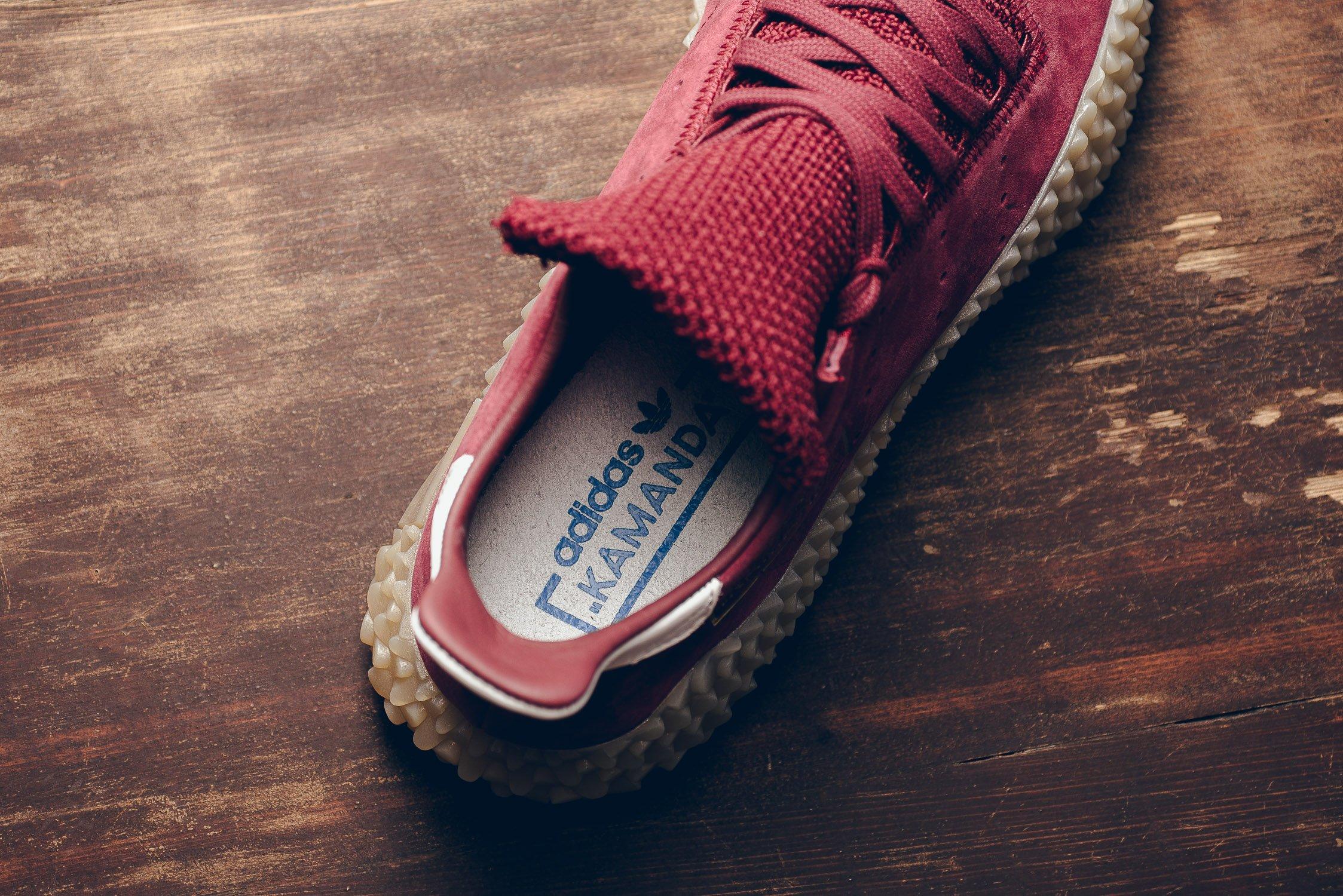 Adidas Kamanda в бордовом цвете снимок 3