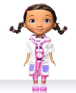 Кукла Дотти в белом халате