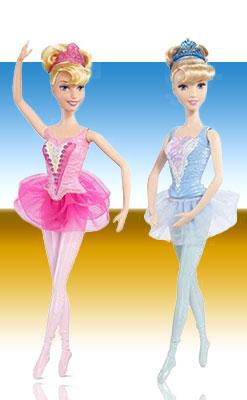 Куклы Аврора и Золушка балерины