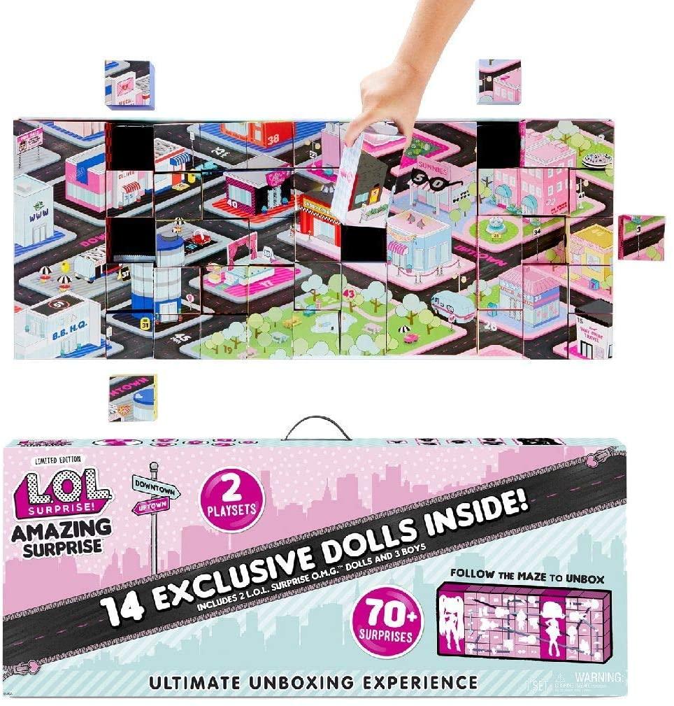 Большой набор Лол из 14 кукол и 70 сюрпризов