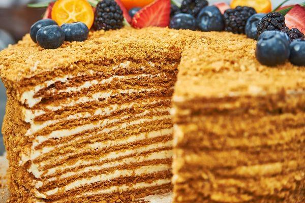 Торт Медовик без глютена