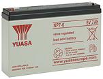 Аккумуляторные батареи Yuasa NP 7-6