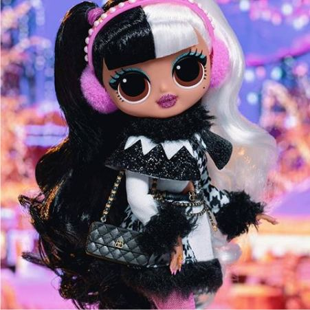 Упаковка-набор куклы ЛОЛ O.M.G. Winter Disco Dollie