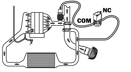 На изображении можно увидеть куда подключается соленойд буст контроллера