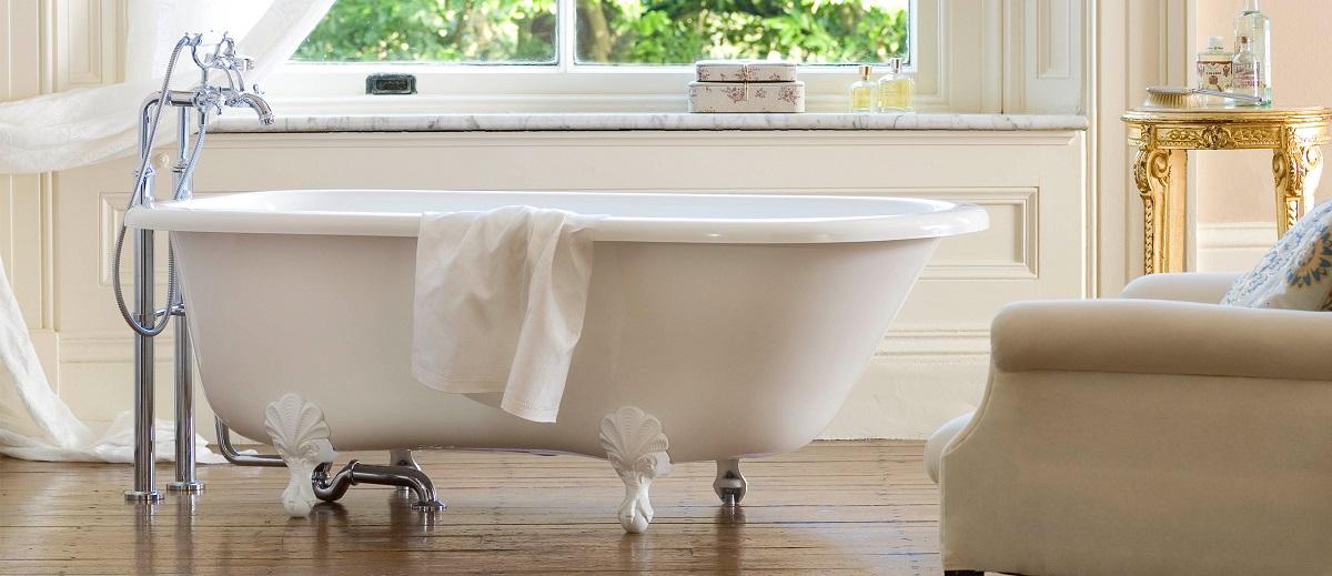 Итальянская ванна на львиных лапах