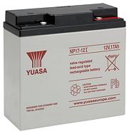 Аккумуляторные батареи Yuasa NP 17-12I