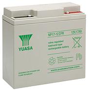 Аккумуляторные батареи Yuasa NP 17-12IFR