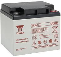 Аккумуляторные батареи Yuasa NP 38-12I