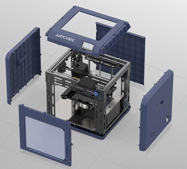 Anycubic 4Max Pro 2.0каркас из листового металла