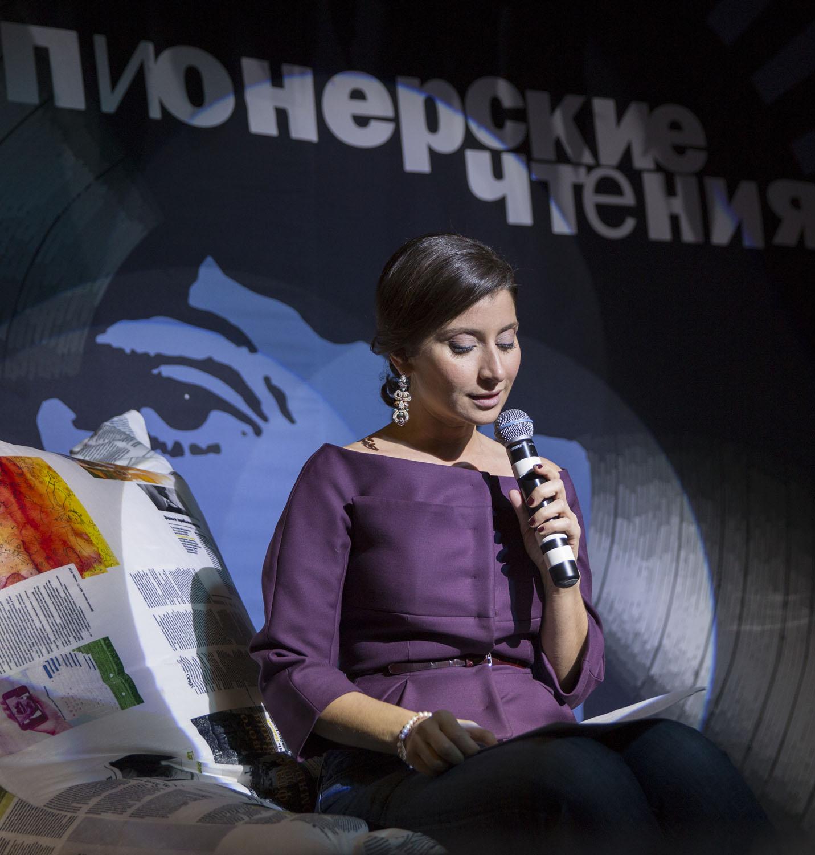 Телеведущая и колумнистка журнала Софико Шеварднадзе