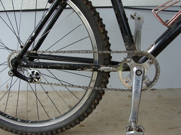 Натяжитель цепи для велосипеда