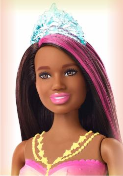Кукла Barbie Русалка - Сверкащая Брюнетка из серии Dreamtopia