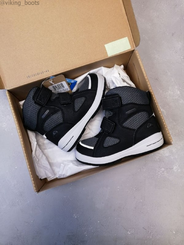 Ботинки Viking Spro Black/Charcoal