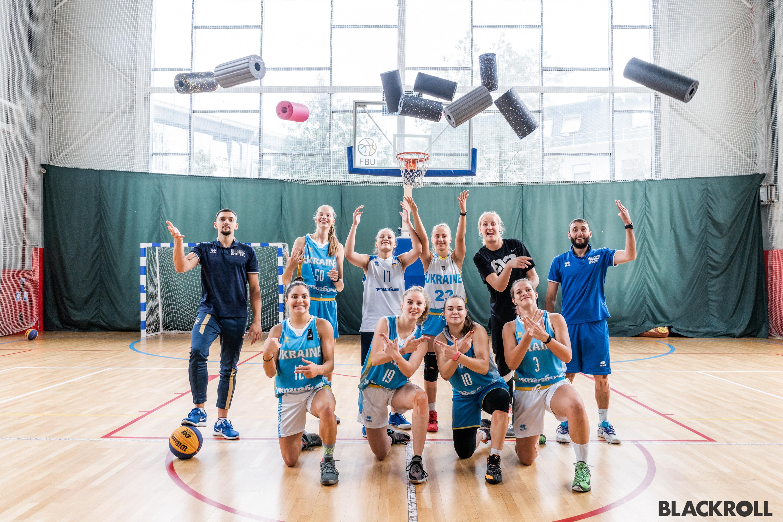 Тренування баскетболістів і продукція BLACKROLL