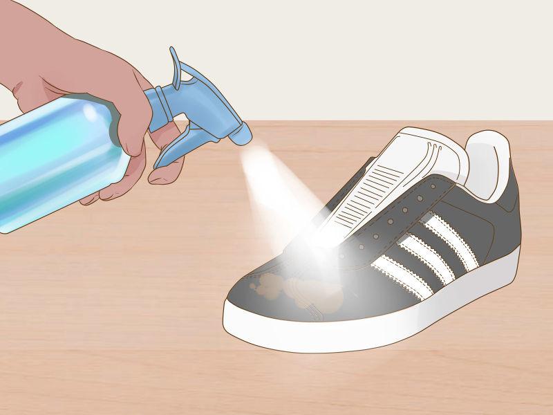Почистить замшевые кроссовки - 3