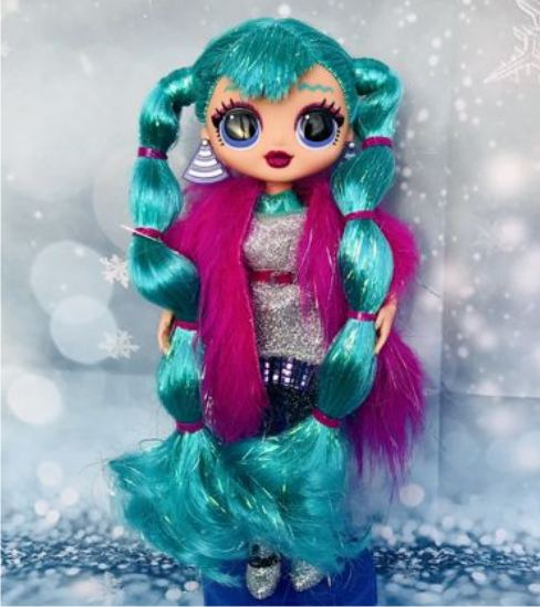 Кукла ЛОЛ O.M.G. Winter Disco - Cosmic Nova (Космик Нова)