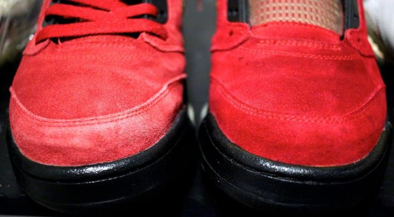 Почистить замшевые кроссовки - 6