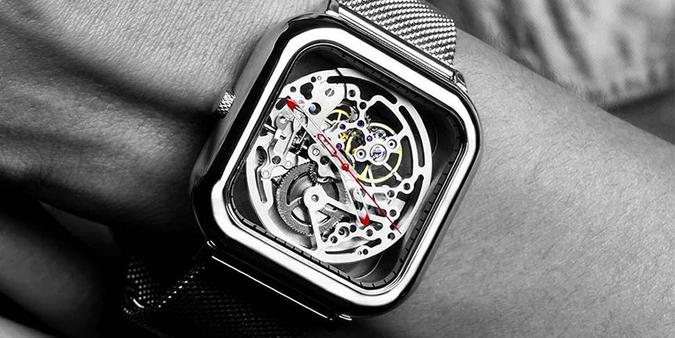 часы наручные Сяоми для любителей выделиться из серой массы