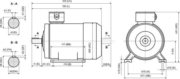 Размеры габариты двигателя для дровокола.