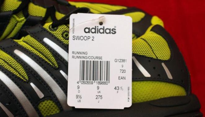 штрих код на оригинальных кросовках адидас подтвердит оригинальность